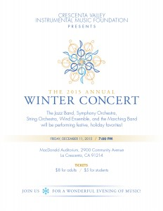 CVIM Winter Concert Flyer 2015 FINAL